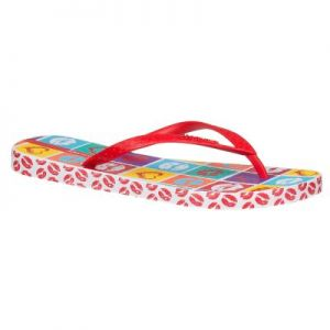 Japonki Ipanema Clas. Temas V FEM 81559 White/Red/Blue 23419