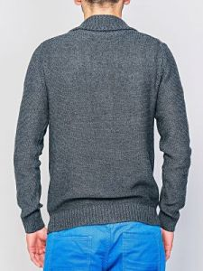 Sweter Męski Model O-09-008 DARKGREY