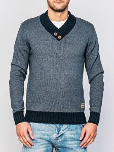 Sweter Męski Model O-09-010 DARKGREY