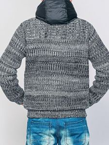 Sweter Męski Model O-09-100 GREY